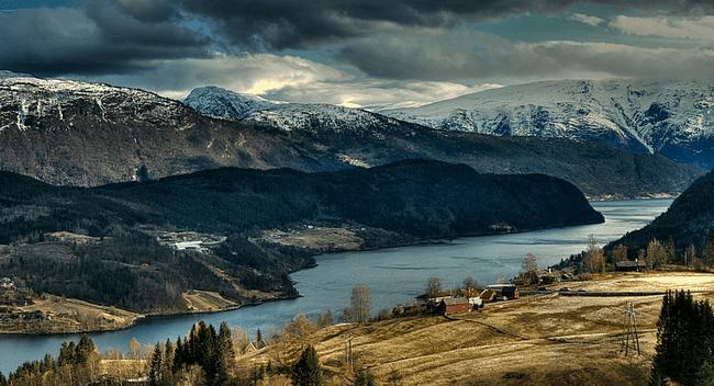 fiord-norwegia