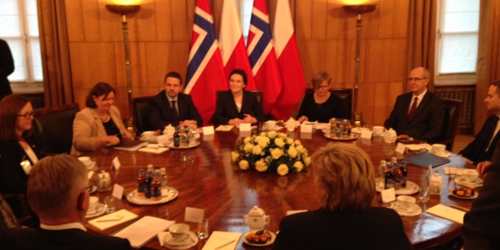 Premier-Erna-Solberg-w-Polsce
